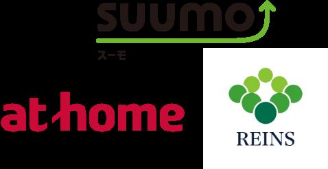 スーモ・at home・REINS
